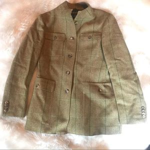 Brook brothers wool riding coat